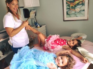 Treating kids without acupuncture needles and they love it!